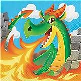 Dragon Napkins, 48 Count