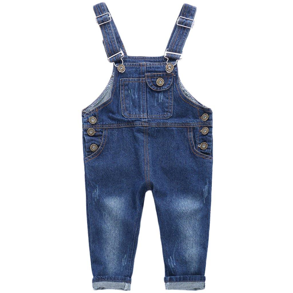 r.b.hickory Baby Dungarees Denim Jeans Toddler Boys Girls Bib Overalls Jumpsuit