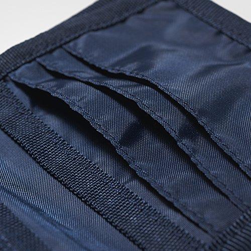 Adidas Fcb Bleu maruni rojfcb Wallet SrSYw