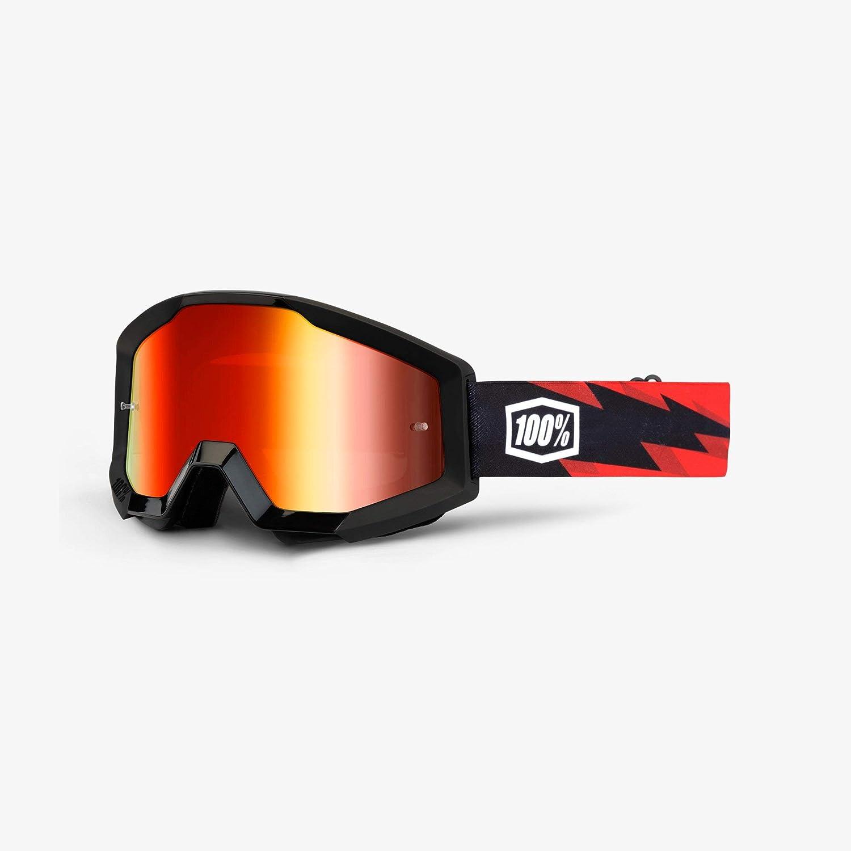 100 Percent STRATA Goggle Slash - Mirror Red Lens