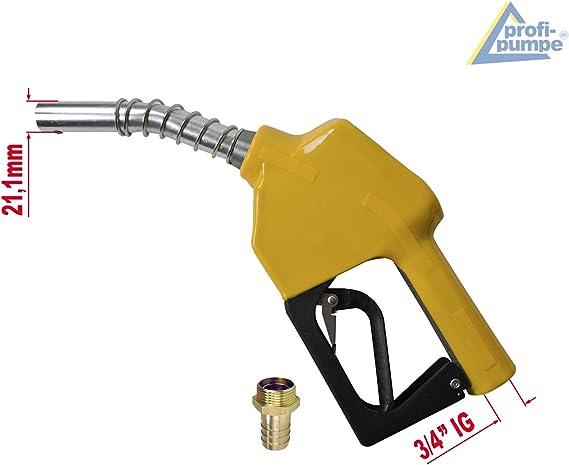 Zubeh/ör Dieselpumpe Heiz/ölpumpe Biodiesel-Pumpe Selbstansaugend Power-600-4-1 Kraftstoffpumpe 230V Elektro-Dieselpumpe mit Z/ähler Automatik Zapf-Pistole Flexi-Saug-und Druckschlauch