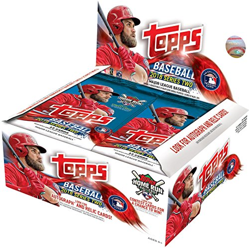 (2018 Topps Series 2 MLB Baseball RETAIL box (24 pk))