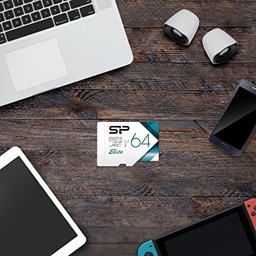 Silicon Power-64GB High Speed MicroSD Card with Adapter by Silicon Power (Image #6)