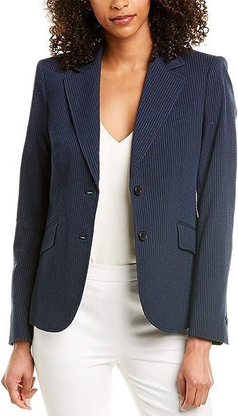 Anne Klein Women S Seersucker Jacket At Amazon Women S Clothing Store