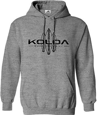 8e77f4143ba6b Koloa Surf Vintage Surfboard Logo Hoodie, Hooded Sweatshirt-S-AthHeather/b