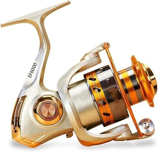KJRJJZ Carrete de pesca de bajo perfil Carrete de pesca de ...