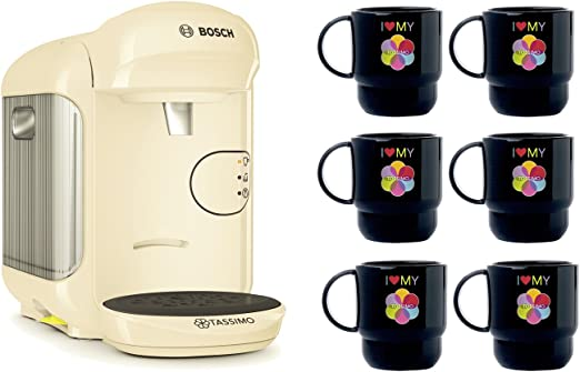 Bosch Tassimo Vivy 2 Bundle Set + 6 x Tupperware Taza Cafetera ...
