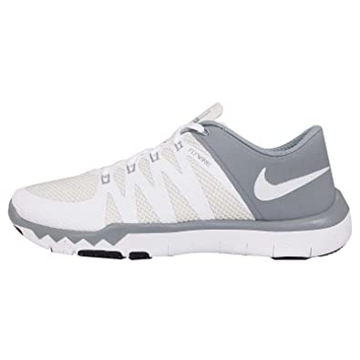 0ab434616f6fd ... grey volt white 330ca d595b  low cost amazon nike mens free trainer 5.0  v6 flywire mesh running cross training shoes 6