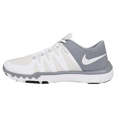 0d955522f1c2 ... denmark nike mens free trainer 5.0 v6 running cross training shoes white  6 medium d 16a29