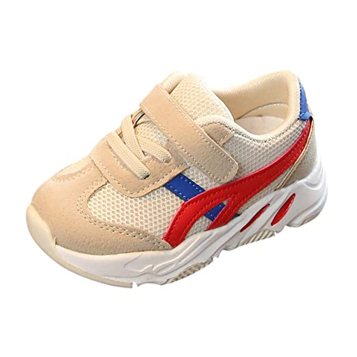 0a655f5c754 Children Mesh Sneakers Shoes for 1-6 Years Little Kids Toddler Baby Boys  Girls Rubber