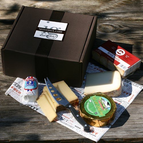 French Cheese Assortment in Gift Box (29.75 ounce) (Cheese Sampler French)