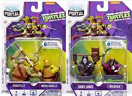 Hero Portal Teenage Mutant Ninja Turtles Casey Jones /& Splinter Booster Pack