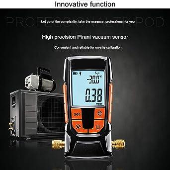 Manómetro con sensor de presión absoluta sin necesidad de ...