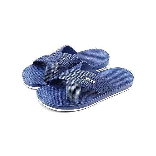 d325ee354 Bastolive Large Size Mens Slippers Sandals Bedroom Pool Spa Beach Plastic   Amazon.ca  Shoes   Handbags