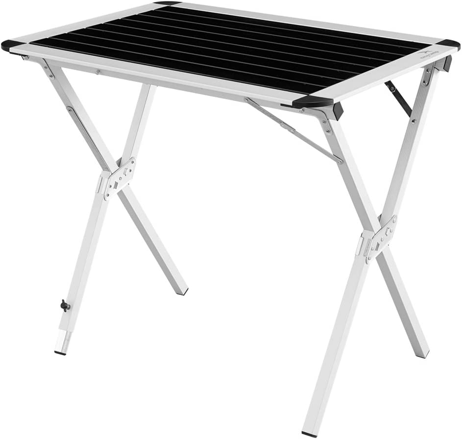 540004 Extra Large Easy Camp Rennes Table Black//Silver