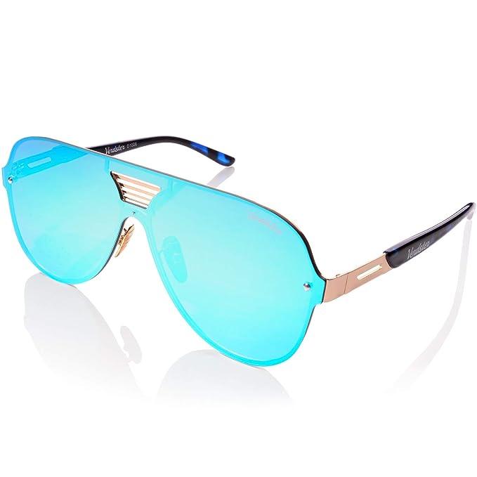 Verdster Gafas De Sol De Aviador TourDePro Para Niñas y Niños – Montura Cómoda con Protección UV – Incluye un estuche, funda y un pañuelo ...