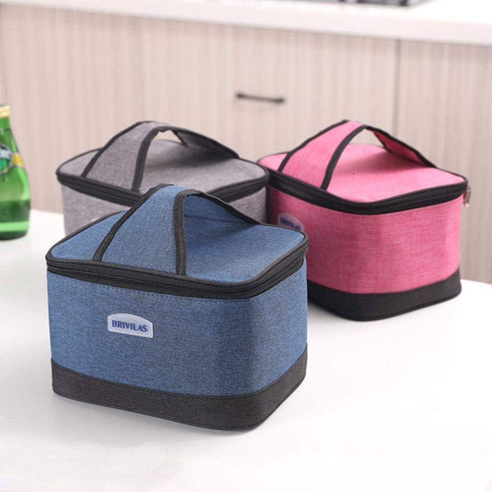 Bolsa del Almuerzo Floral Insulated Lunch Bag Picnic Bag Tote Cooler Box Handbag School Handbag Snack Box Xmas Gifts,Customized