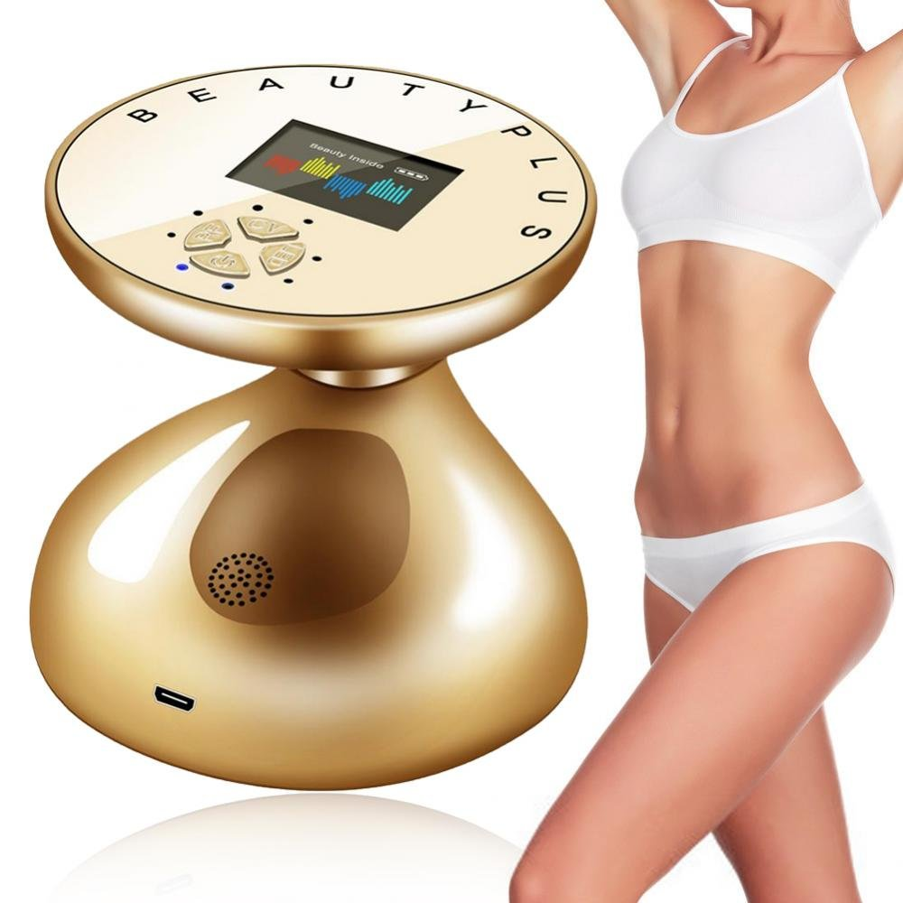 3D RF Body Slimming Machine, Cavitation Machine Fat Cellulite Removal Massager for Face and Body, Led Light Therapy CV for Fat Loss against Excess Fat Yotown