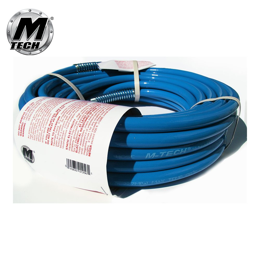 M-Tech Airless Paint Sprayer Hose 1/4'' x 25 feet,We are changing Our Color To Turquoise !!!