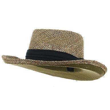 e3345d55 Gambler Straw Hat - Navy Band OSFM at Amazon Men's Clothing store ...