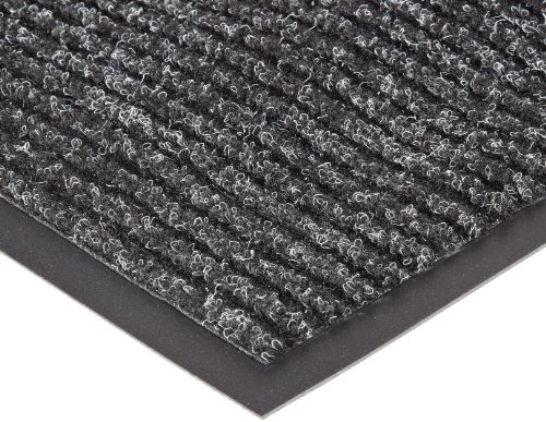 NoTrax 109 Brush Step Entrance Mat, for Lobbies and Indoor Entranceways, 3' Width x 5' Length x 3/8