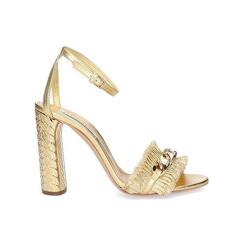 itScarpe E Sandali Casadei Pelle Borse 1l732kgold Donna OroAmazon strCQhd
