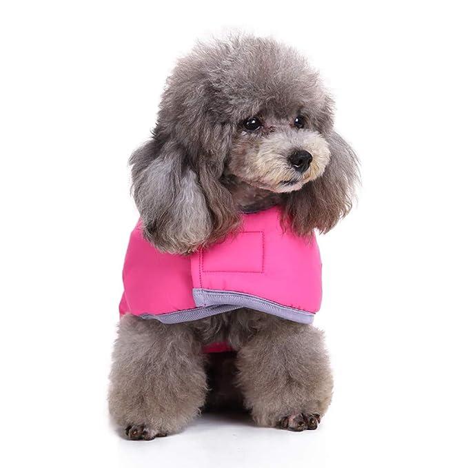 Amphia - Haustier Hund Klettjacke Mantel Kleidung,Kaltes Wetter ...