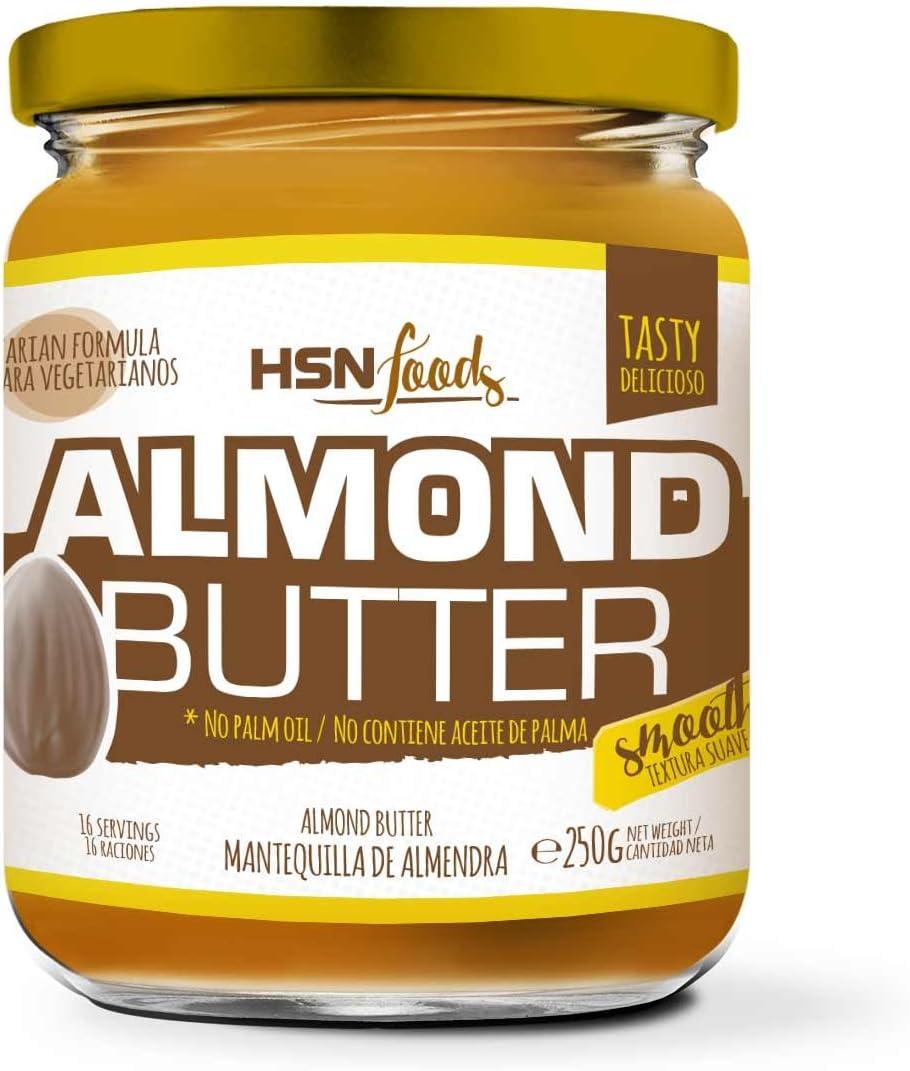 HSN Foods - Mantequilla de Almendras con Textura Cremosa y Suave ...