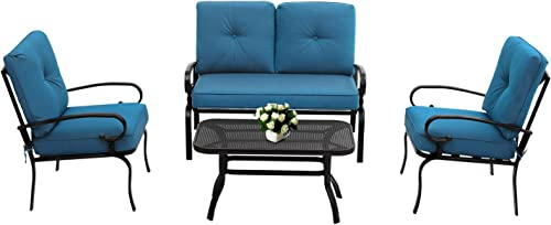 Oakmont Outdoor Furniture Patio Conversation Set Loveseat