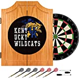 Trademark Gameroom University of Kentucky Wildcats Wood Dart Cabinet Set - Smoke