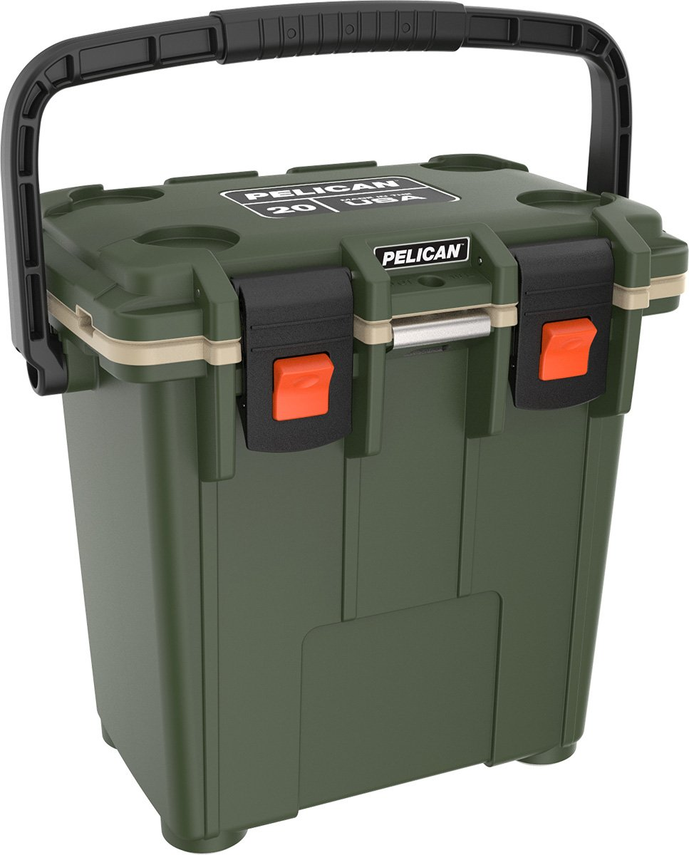 Pelican Elite 20 Quart Cooler (OD Green/Tan)