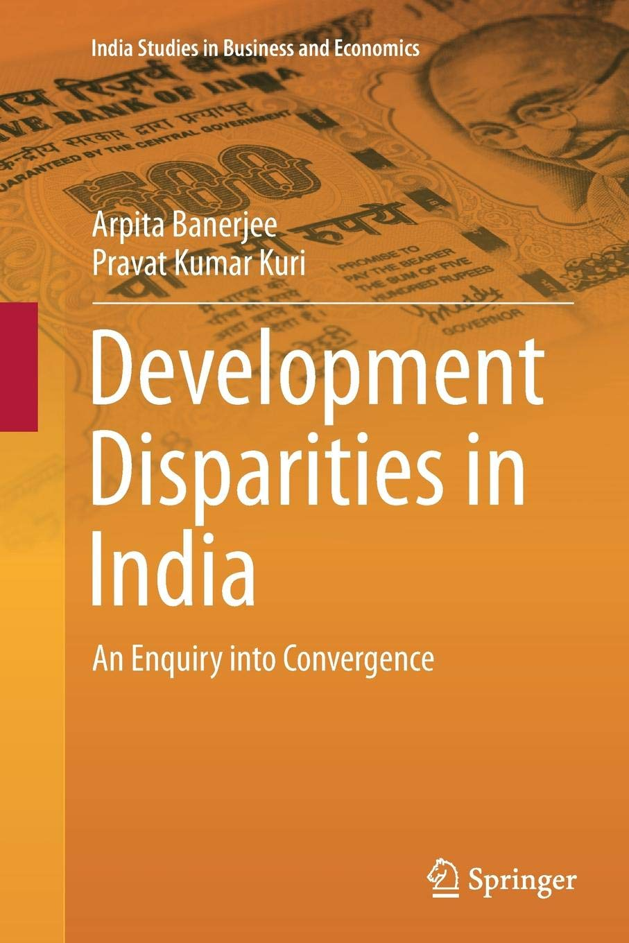 Development Disparities in India: An Enquiry into Convergence