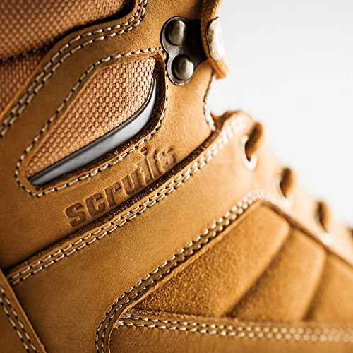 Scruffs-Oxid wasserabweisend Hiker Sicherheit Boot-camel (Größen 7