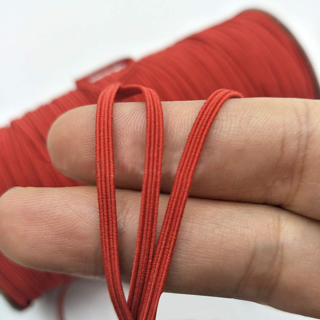 Dantazz 16 Rolls Gummiband Elastische Bunt Elastic Band 1//8 Zoll Breit Gummib/änder f/ür Elastische Linie DIY Schmuckherstellung Perlenschnur Crafting String 16 Farbe 3 Yards Mehrfarbig
