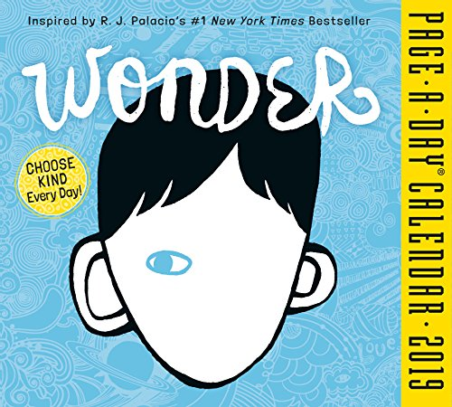 Wonder Page-A-Day Desk Calendar 2019 [5.5'' x 6'' Inches] by 2019 Calendars