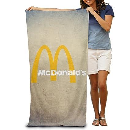 "McDonalds 90s 31.5 * 51 ""toalla de playa"