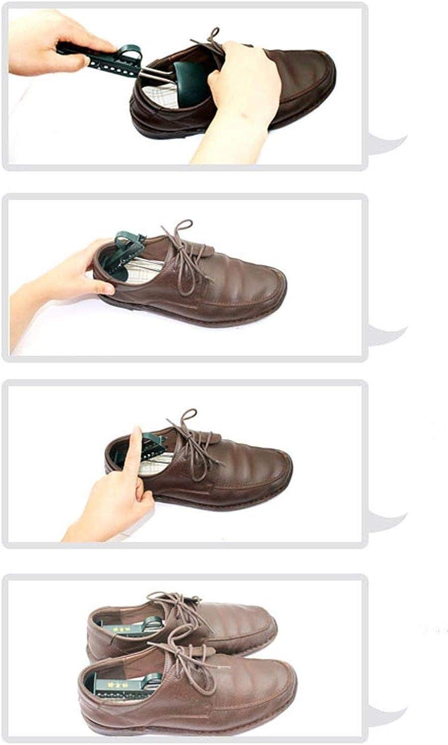 vert Fonc/é Aisoway 1 Paire De Chaussures Brancard Homme R/églable Chaussures Widener Expander Pour /Étirer Longueur Largeur Hauteur Pour Les Pieds Larges Dur Chaussures En Plastique Arbre Shaper