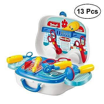 Jugar Niños Pretender Toymytoy Juguetes Conjunto 13pcs Médicos shxrtQdC