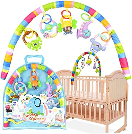 Baby Bed Cot Musical Toy Musical Rattles Nusery Pram Toy Baby Car Seat Toy Gift