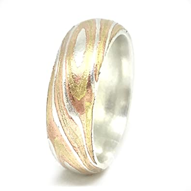 wood alternative by bands and pin engagement luxury wedding mokume krikawa grain rings images gane