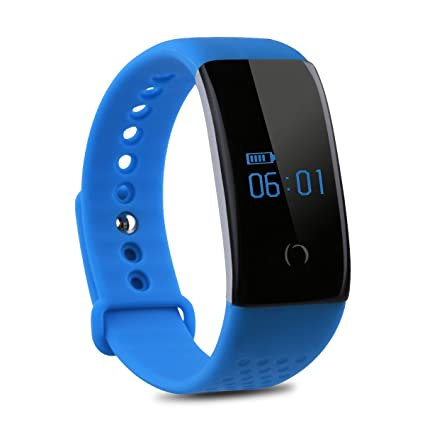 Diggro S1 - Smartwatch Pulsera Inteligente para Móvil Android IOS (Monitor de Sangre Oxígeno y Ritmo Cardíaco, Deporte Fitness Rastreador, Bluetooth ...