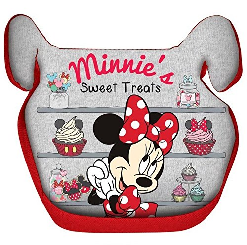 Disney Baby Universal Baby Booster Seat Minnie Group 2/3 15-36 Kg (36 Months, Red) by Disney