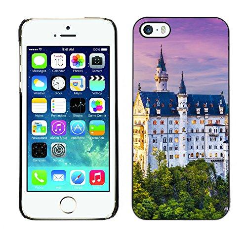 Hülle Case Schutzhülle Cover Premium Case // V00002612 Neuschwanstein // Apple iPhone 5 5S 5G