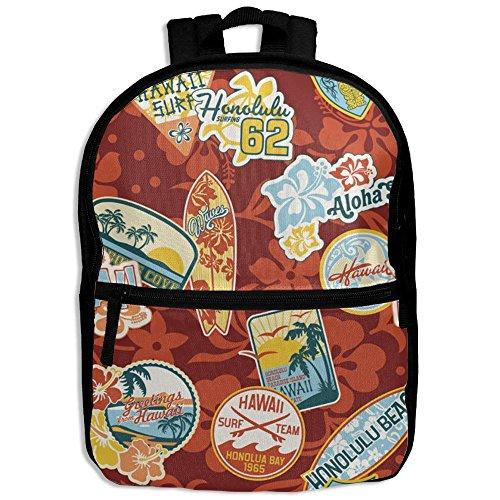 fan products of Windsurf Sport Cool Pattern Printing Shoulders Kid' Bag For Boy School Kindergarten Backpacks With Zipper