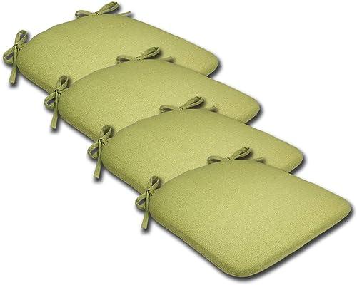 Comfort Classics Inc. Set of 4 16W x 17Dx 1.5H Spun Polyester Outdoor SEAT Cushion