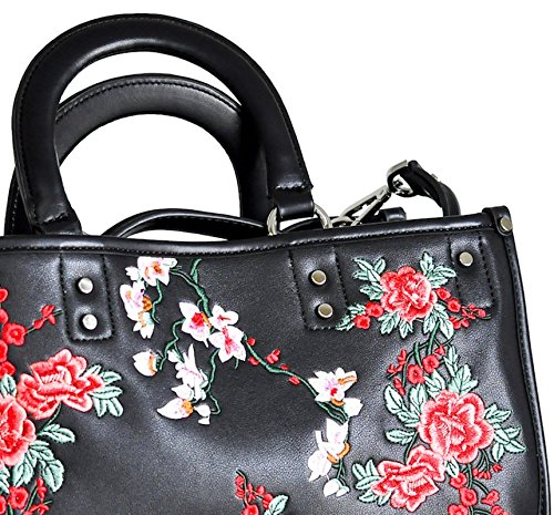 Faris Rbbs2lv01n Rb Donna Floreale Shopping Borsa Ne 0qznfxa6w