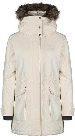 Didriksons Meja Women s Parka - Wintermantel, Größe Bekleidung NR 44,  Farbe Organic White e8de597a35