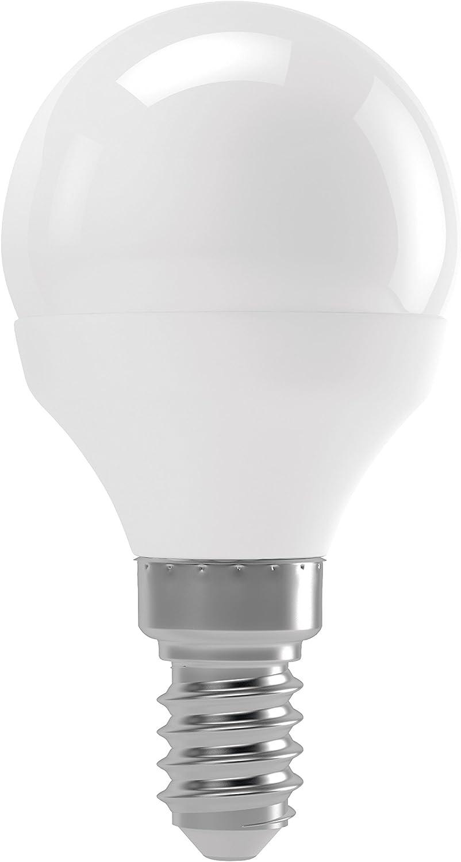 EMOS Mini Globe G45 LED Warmweiß Lampe E14 8W