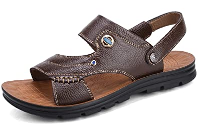 Respeedime Herren Peep-Toe, Yellow Sandal - Größe: 38