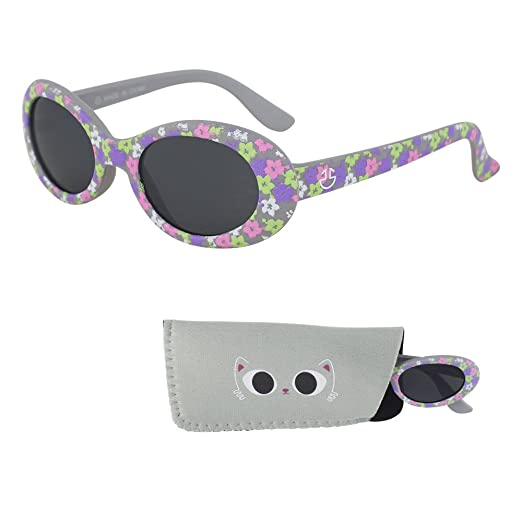 Sunglasses for Babies - Infants and Toddlers - 1 Month to 3 Years - Rubber Frame